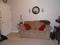 Living room in 1 Bdr