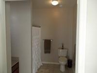 Bathroom in larger 1 bedroom