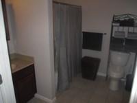 Bathroom in 1 BDR Apt.