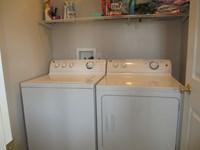 Washer/dryer in 2 BDR apt