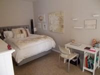 Bedroom in larger 1 bedroom
