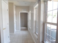 Hallway in the larger One bedroom