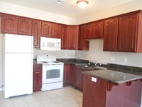 Kitchen in the larger One Bedroom