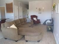 Living room in 2 Bdr Apt